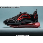 wholesale Mens & Womens Nike Air Max 720 Black Red