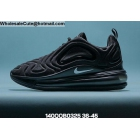 Mens & Womens Nike Air Max 720 Black Silver