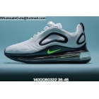 wholesale Mens & Womens Nike Air Max 720 White Black Green