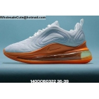 wholesale Womens Nike Air Max 720 White Orange