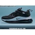wholesale Mens Nike Air Max 720 OBJ Black White
