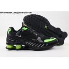 wholesale Mens Nike Shox Enigma Black Green