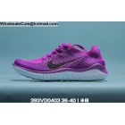 wholesale Womens Nike Free RN Flyknit Purple White