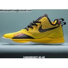 Mens Nike Lebron Witness III EP Yellow Black Red