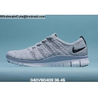 Mens & Womens Nike Free 5.0 Flyknit Black Grey White