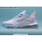 wholesale Womens Nike Air Max 720 React White Pink Purple