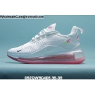 Womens Nike Air Max 720 Plus 270 White Pink