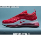 Mens & Womens Nike Air Max 720 Plus 97 Red White