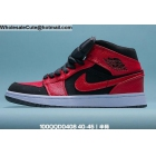 wholesale Mens Air Jordan 1 Retro Red Black White