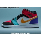 Mens & Womens Air Jordan 1 Mid Multi Color