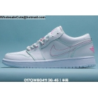Mens & Womens Air Jordan 1 Low White Pink
