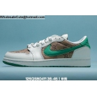 wholesale Mens & Womens Air Jordan 1 Low White Green