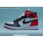 Mens & Womens Air Jordan 1 Satin Black Toe