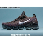 Mens & Womens Nike Vapormax Flyknit 3 Chocolate Silver