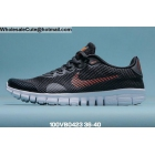 Womens Nike Free 3.0 Black Orange White