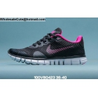 wholesale Womens Nike Free 3.0 Black Pink White