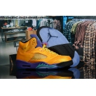 wholesale Mens Air Jordan 5 NRG Fresh Prince Golden Purple