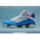 Mens & Womens Jordan 6 Rings White Blue Pink