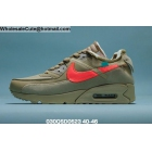 Off White x Nike Air Max 90 Desert Ore Mens Shoes