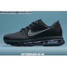 wholesale Mens Nike Air Max 2020 Black White