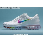 Mens Nike Air Max 2020 White Rainbow Swoosh