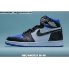 Mens & Womens Air Jordan 1 Royal Toe Black White