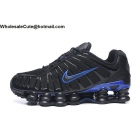 wholesale Mens Nike Shox TL Black Racer Blue