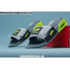 wholesale Mens & Womens Nike Air Max 90 Slide Grey Black Neon Green