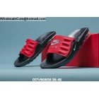 wholesale Mens & Womens Nike Air Max Camden Slide Black Red
