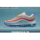 Mens & Womens Nike Air Max 97 White Orange Pink