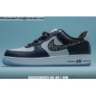 wholesale Mens Nike Air Force 1 Low Navy Blue White