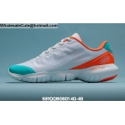 wholesale Mens Nike Free RN 5.0 2020 White Orange Teal Tint