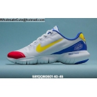 Mens Nike Free RN 5.0 2020 White Blue Red Yellow