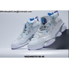 wholesale Mens & Womens Jordan 6 Rings Utah Jazz White Silver Blue