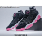 wholesale Mens & Womens Jordan 6 Rings Black White Pink