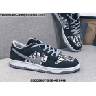 wholesale Mens & Womens Nike SB Dunk Low Black White Grey