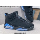wholesale Mens & Womens Air Jordan 6 UNC Black University Blue
