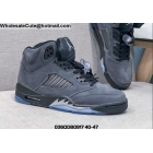 Mens Air Jordan 5 Anthracite