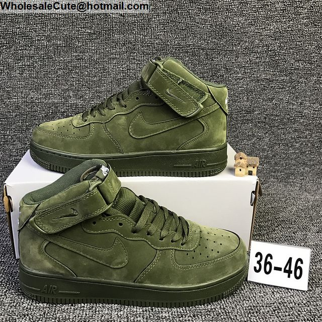 Nike Air Force 1 Mid Legion Green