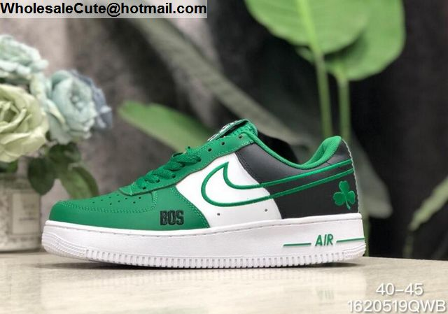 on sale d9a32 aee44 Nike Air Force 1 Low NBA Boston Celtics Mens Shoes -16739 ...
