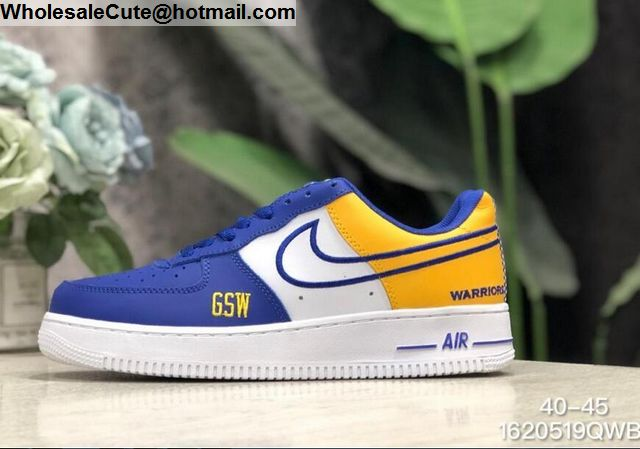 Nike Air Force 1 Golden State Warriors