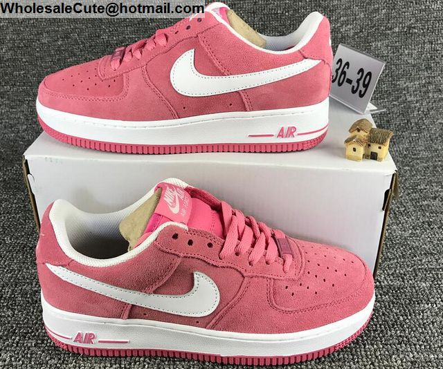 Pink White Nike Air Force 1