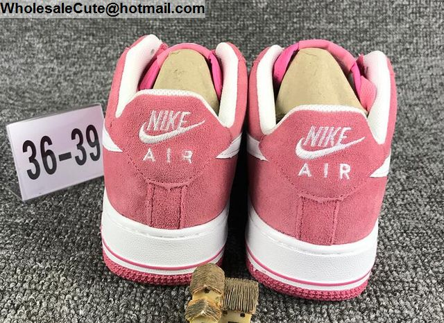 Nike Air Force 1 Pink White