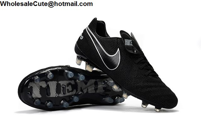 Nike Tiempo Legend VI FG Black White