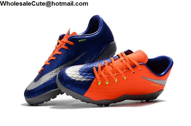 Nike Hypervenom Phantom Premium TF Blue Orange