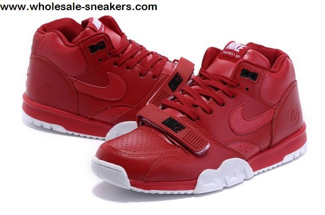Red NIKE Air Trainer 1