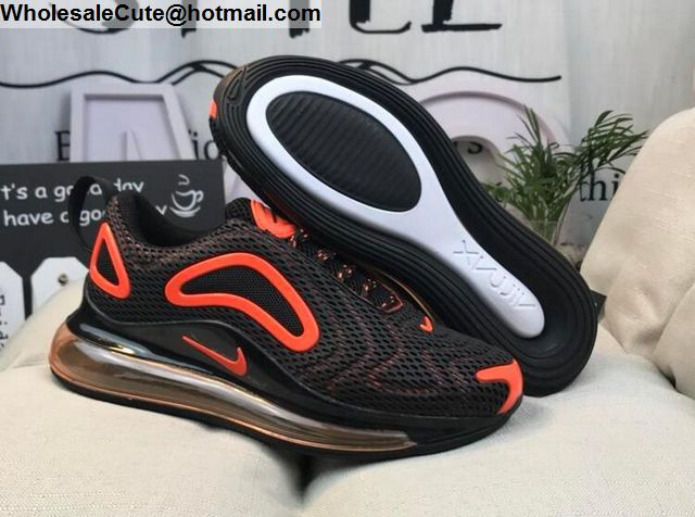 Nike Air Max 720 Black Orange