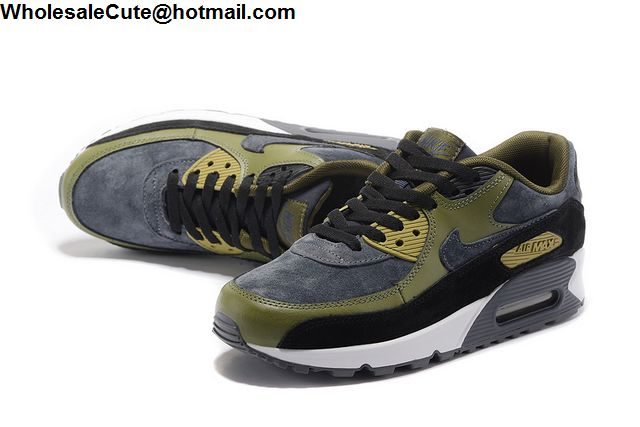Nike Air Max 90 Grey Army Green