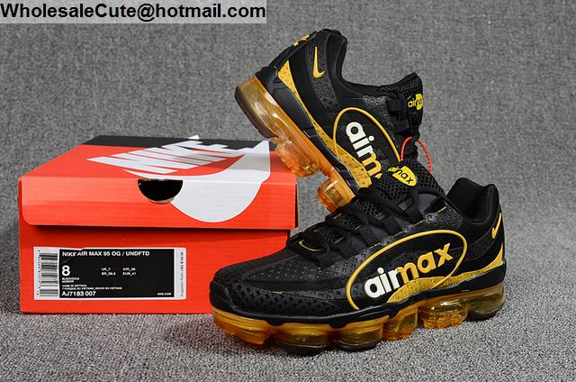 Nike Air Max 95 Vapormax Black Yellow