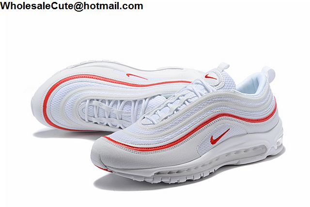 Nike Air Max 97 White Red